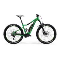 Велосипед Merida eBig.Trail 500 GlossyGreen/Black 2018 M(44cm)(39953)